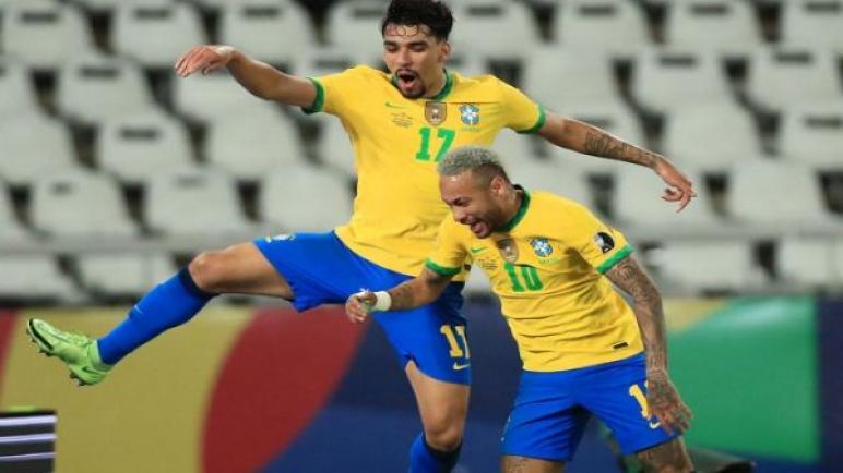البرازيل تتغلب علي بيرو وتبلغ نهائي كوبا أمريكا