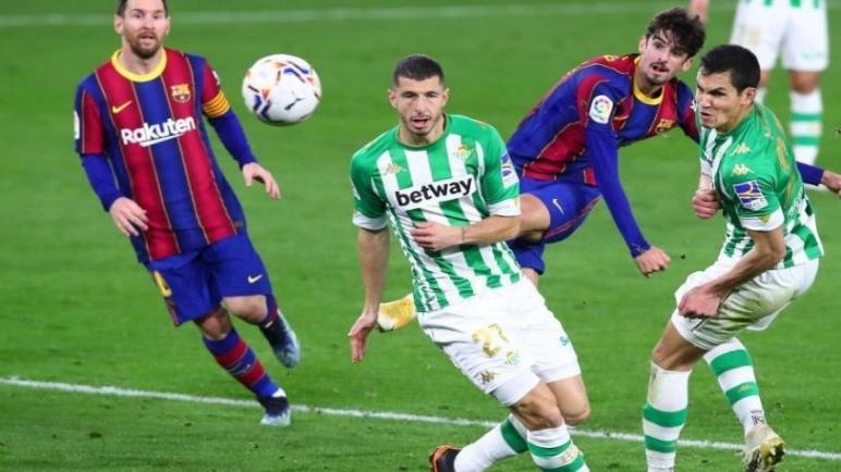 برشلونة يقفز للمركز الثاني بعد إسقاط ريال بيتيس