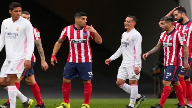 ريال مدريد يتعادل في الدقائق الاخيرة ضد اتلتيكو