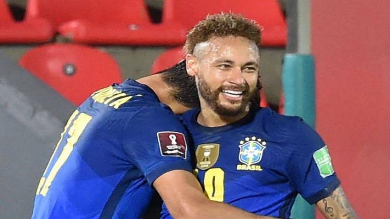 نيمار يقود البرازيل للفوز بهدفين علي الباراغواي في تصفيات كأس العالم