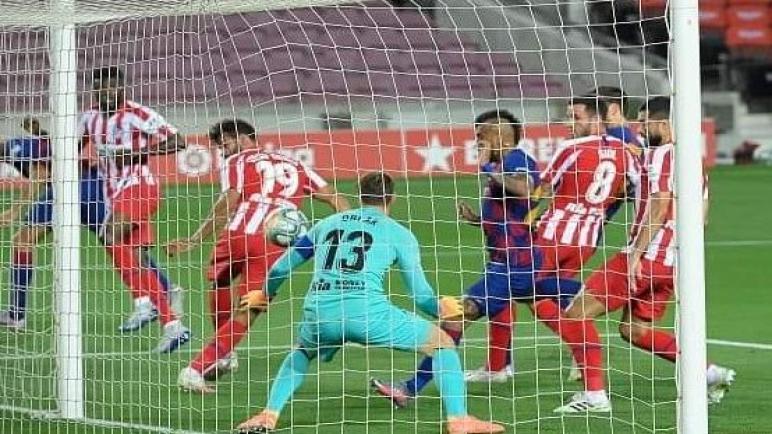 برشلونة يسقط بتعادل بطعم الخسارة امام اتليتكو