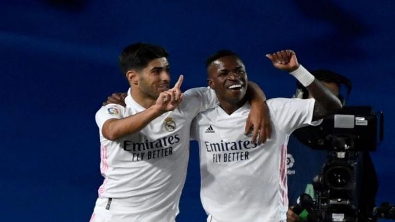 فينيسيوس يقود ريال مدريد الى الفوز على بلد الوليد