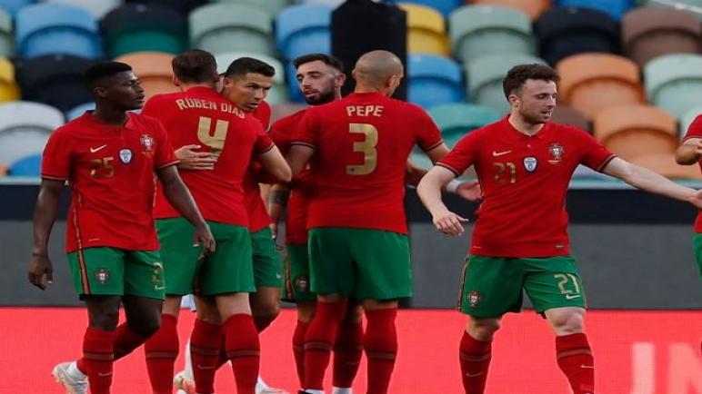 البرتغال تفوز علي اسرائيل برباعية في مباراة تحضيرية