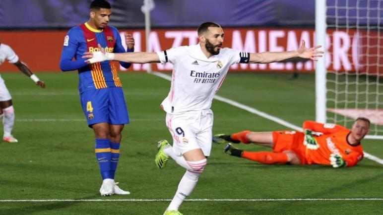 ريال مدريد يحسم الكلاسيكو ذهابا وايابا