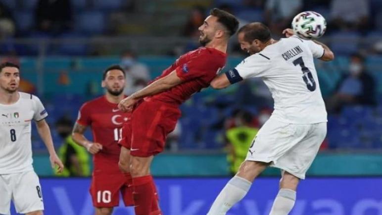 منتخب ايطاليا يستهل مشواره في اليورو بفوز علي تركيا