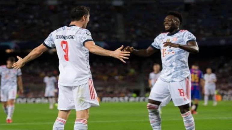 بايرن ميونخ يهزم برشلونة علي الكامب نو بثلاثية