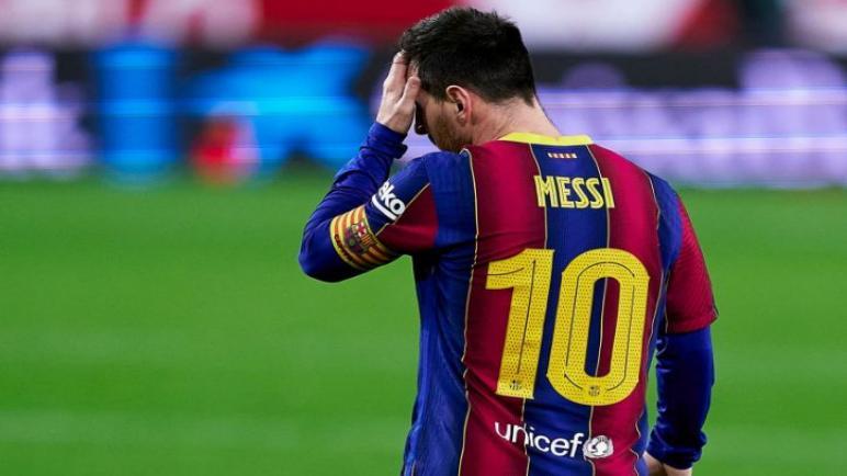 اشبيلية يتفوق علي برشلونة بثنائية في كأس ملك إسبانيا